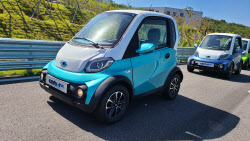 거리에 나타나면 시선집중…초소형 전기차 '쎄보-C SE'