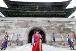 [포토]국보 1호 '숭례문', 대중에 완전개방