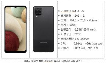 서울시, 월 1만9526원 '어르신 스마트폰' 25일부터 보급