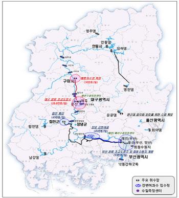 낙동강물관리위원회, 2028년까지 상하류 취수원 다변화