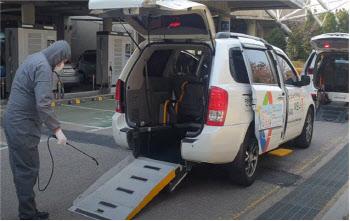 안산도시공사, 하모니콜 차량 방역시스템 운영