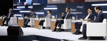 """[ESF 2021] """"지속가능사회 정부 역할 중요…ESG `규제 일변도` 안돼"""""""