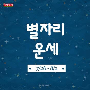 [카드뉴스]2021년 7월 마지막 주 '별자리 운세'