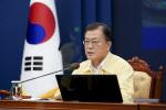 文대통령 중대본회의 주재… 코로나 방역 점검