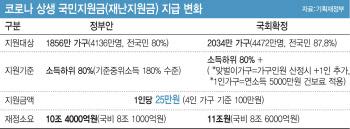 '전국민 88%에 25만원' 어설픈 정치논리에 후폭풍