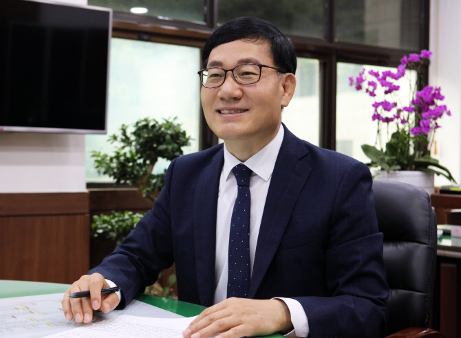 """서영삼 사장 """"장상·신길2지구 자족도시 만들겠다"""""""