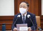 """홍남기 """"코로나 4차 확산, 3분기 경제 큰 리스크 요인"""""""