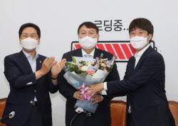 """野 지도부, 윤석열에 """"버스 탑승 환영""""…일단 `표정관리`"""