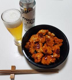 [내돈내먹]우리집 '고메루'에서 깐짬면과 어메이징한 맥주를