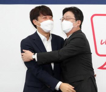 """이준석 만난 유승민 """"대표 되고 너무 조심해 섭섭"""""""