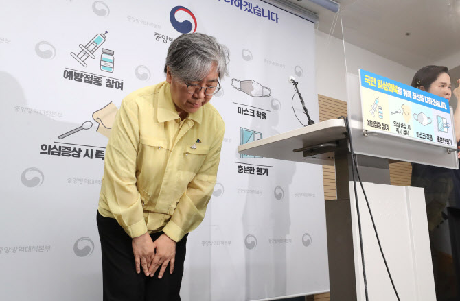 """코로나19 예방접종 1차 3600만명 넘어, 204일만…정은경 """"진심 감사"""""""
