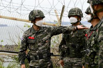 소연평도·우도 간 해병대사령관…군사 대비태세 점검