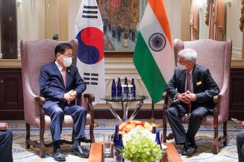 한-인도 외교장관 회담…고위급·민간 교류 적극 촉진