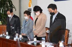 [포토]북한군에 피살된 공무원 추모하는 국민의힘