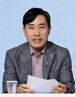 [포토]제2차 방송토론회, '인사말하는 하태경'