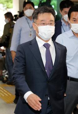 """[포토]김만배 """"법률고문단, 좋아하던 분들…대가성 없었다"""""""