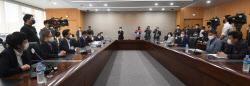 [포토]국민의힘 대장동 게이트 진상조사위, '성남시청 방문'