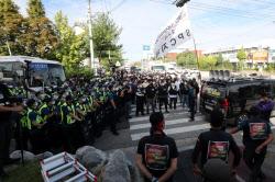 [기자수첩]SPC 기습시위 화물연대, 엄정한 사법조치 이뤄져야