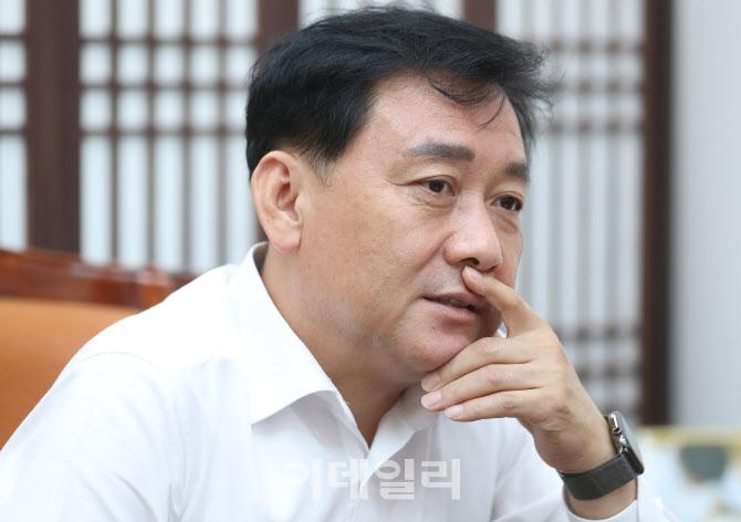 """이광재  """"文 종전선언 시의적절…베이징올림픽 분수령될 것""""[만났습니다]①"""