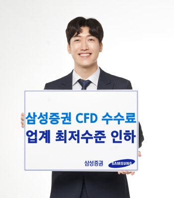 삼성증권, 국내주식 CFD 수수료 업계 최저수준 인하