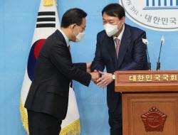 [포토]윤석열, '주호영 선대위원장으로 영입'