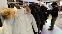 [포토]기습한파에 겨울옷 인기