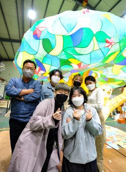[포토] 서울빛초롱축제 한지등 제작 현장
