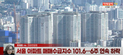 """(영상)서울 아파트 매수심리 꺾여…집값 안정은 """"글쎄"""""""
