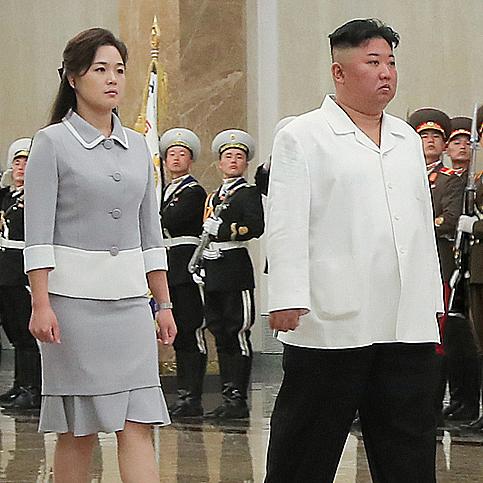 北김정은 부부