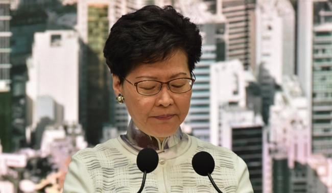 """홍콩, 범죄인 송환법 무기한 연기 """"철회는 아냐"""