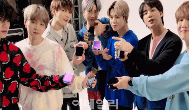 '갤럭시 BTS폰' 정체는 보라빛 갤S20+…7월9일 공식출시