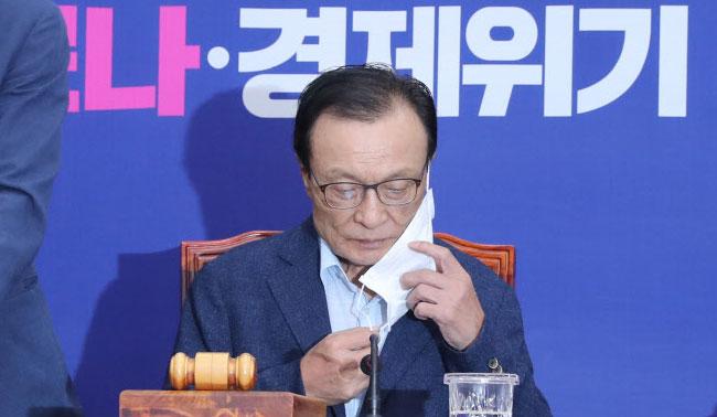 """""""'피해호소인' 지칭은 명예훼손"""" 시민단체, 이해찬 고발"""