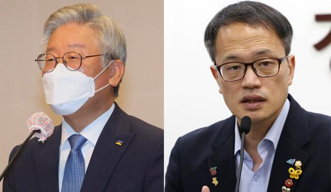 """與지지율 역전 '화들짝'…이재명·박주민 """"국민들의 경고"""""""
