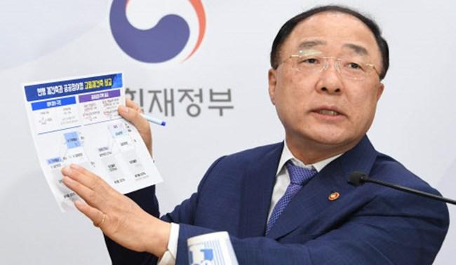 """[일문일답]홍남기 """"과도하게 오른 부동산 하향조정 희망"""""""