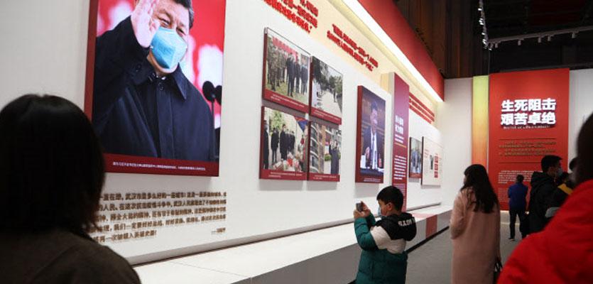 [코로나 1년 우한을 가다] 야전병원 시진핑 전시장 탈바꿈