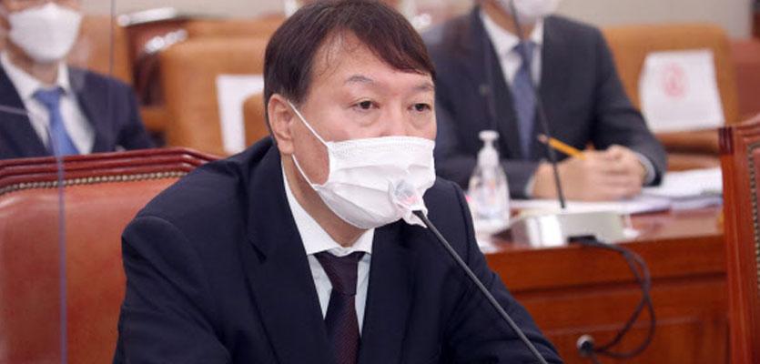 """秋 '불법사찰' 수사 의뢰에…尹 """"직권남용죄 성립 안돼"""""""