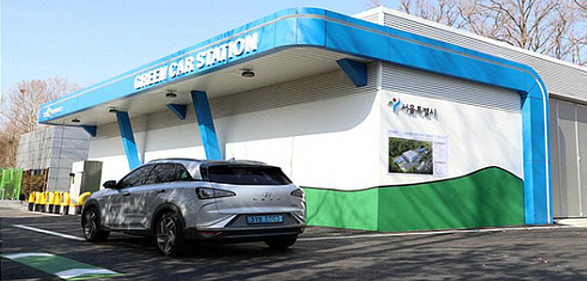 """도시공원 내 수소충전소 설치…""""친환경차 이용 편의성 높일것"""""""