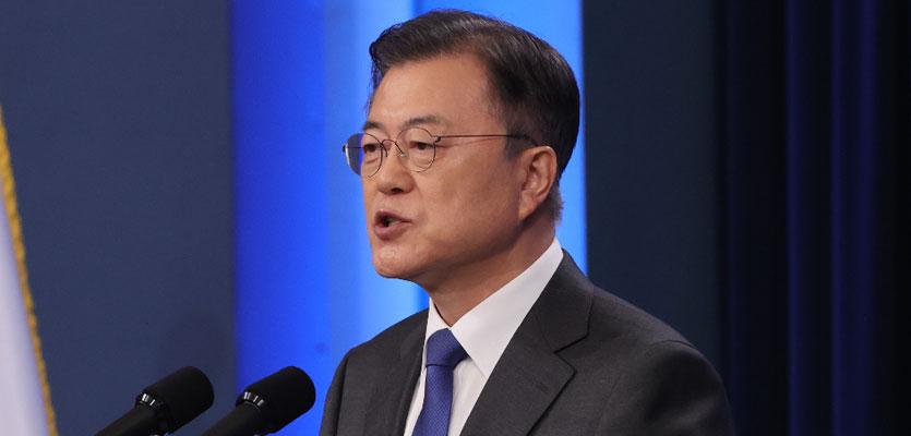 """文 """"부동산은 할 말 없다"""" 실패 인정..'임·박·노' 임명 강행 시사"""