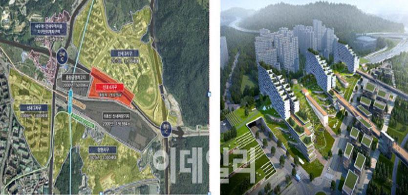 [단독]'도로위 도시' 신내컴팩트시티 지구계획 승인…내년 착공