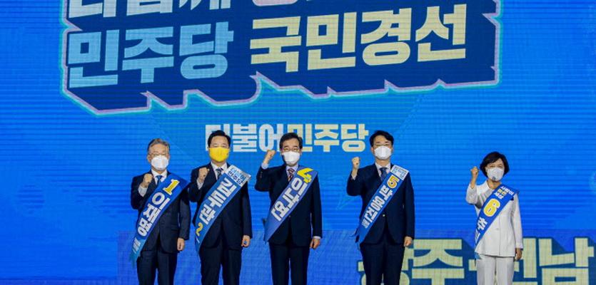 이낙연, 광주·전남서 경선 첫 승…이재명과 격차 좁혀