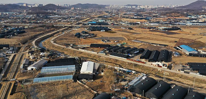 [단독]文정부 '여의도 26배' 수도권 땅 수용했다