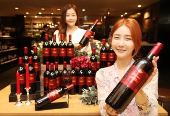 롯데百, 와인 '샤또 푸르카스 보리' 3천병 단독 출시