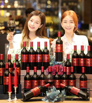 롯데백화점,  '샤또 푸르카스 보리' 와인 선보여