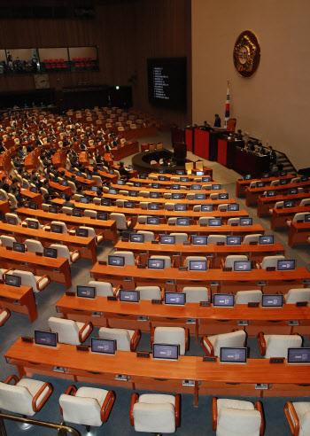 원구성 협상 결렬, '통합당, 국회 본회의 불참'