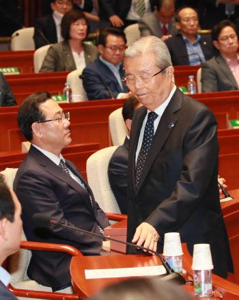 원구성 협상 결렬, '무거운 표정 보이는 김종인-주호영'