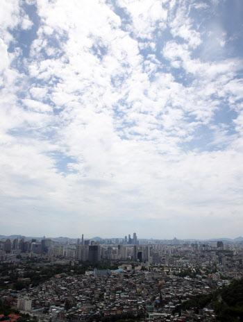 쾌청한 서울 하늘