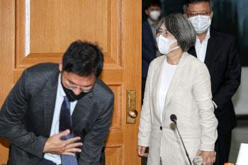 입장하는 김영란 대법원 양형위원회 위원장