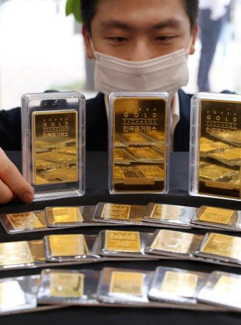 금값 최고치 경신