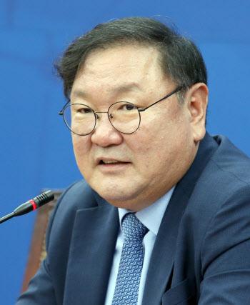 김태년 원내대표, 경제지 합동 기자회견