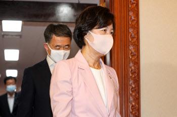 추미애 법무부 장관, 국무회의 참석